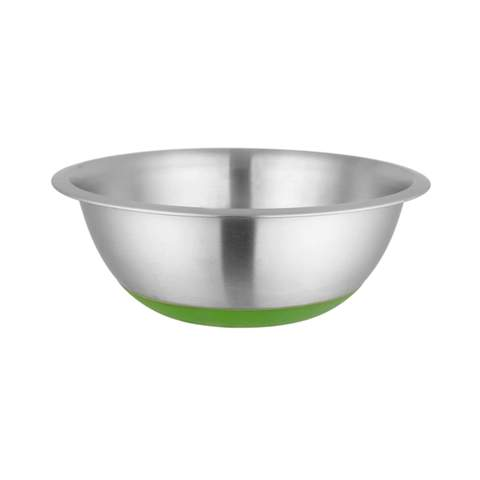 Stainless Steel Mixing Bowl Anti Skid- Green